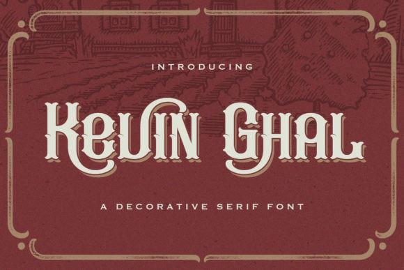 Kevin Ghal Font