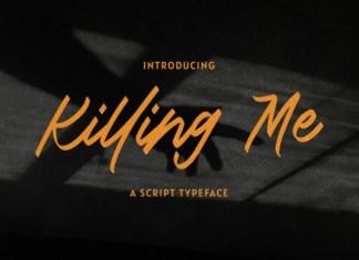 Killing Me Font