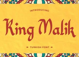 King Malik Font