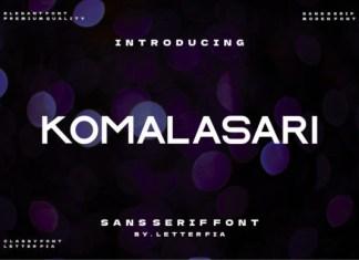 Komalasari Font