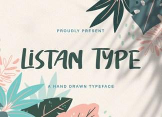 Listan Type Font