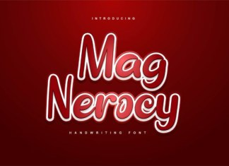 Mag Nerocy Font