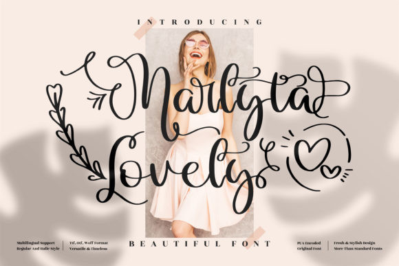 Marlyta Lovely Font