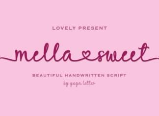 Mella Sweet Font