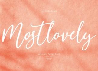 Mostlovely Font