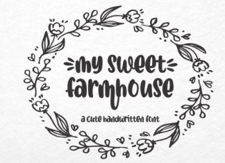 My Sweet Farmhouse Font