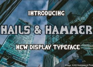 Nails & Hammer Font