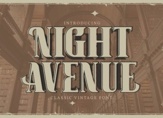 Night Avenue Font
