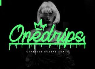 Onedrips Font