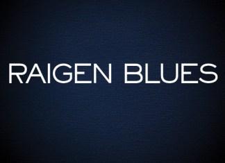Raigen Blues Font