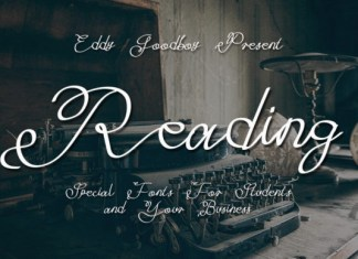 Reading Font