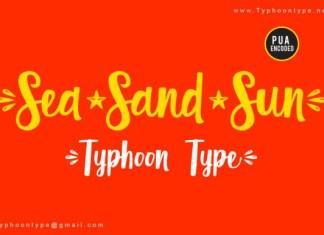 Sea Sand Sun Font
