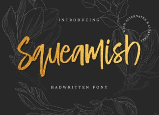 Squeamish Font
