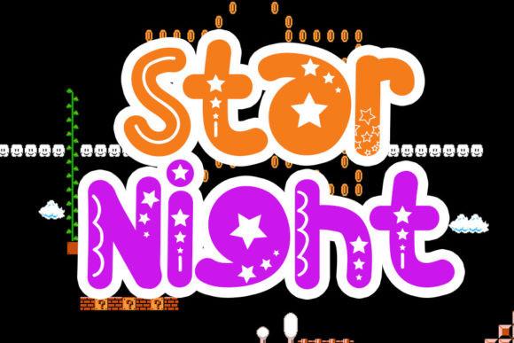 Star Night Font