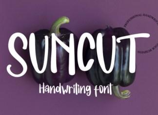 Suncut Font