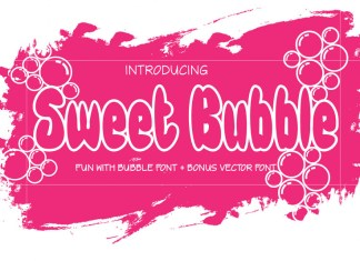 Sweet Bubble Font