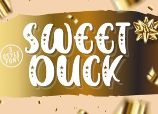 SWEET DUCK Font
