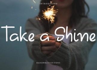 Take A Shine Font
