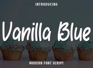 Vanilla Blue Font
