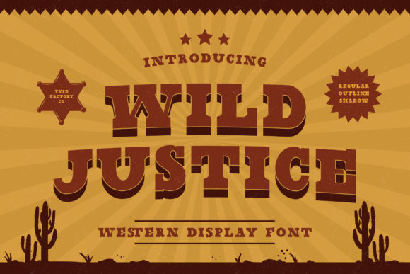 Wild Justice Font