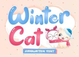 Winter Cat Font