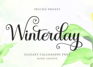 Winterday Font