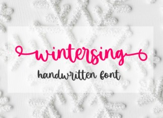 Wintersing Font