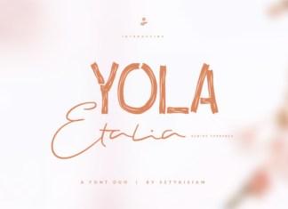 Yola Etalia Font
