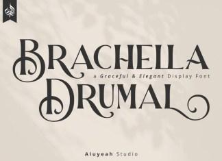 Brachella Drumal Font