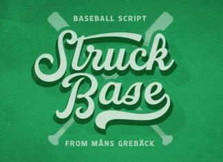 Struck Base Font