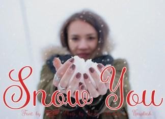 Snow You Font