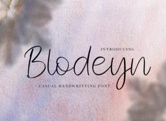 Blodeyn Font