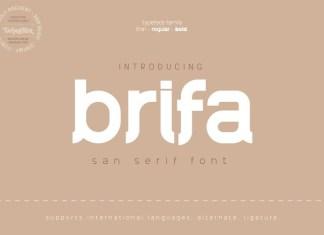 Brifa Font