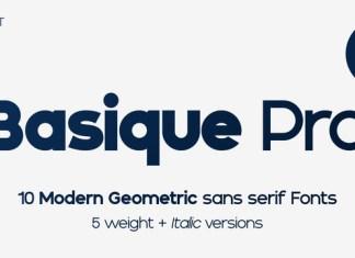 Basique Pro Font