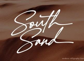 South Sand Font