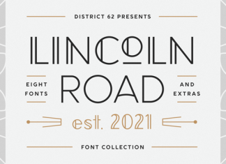 Lincoln Road Font