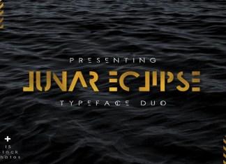 Lunar Eclipse Font