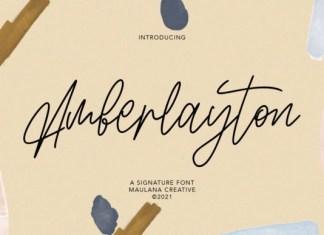 Amberlayton Font