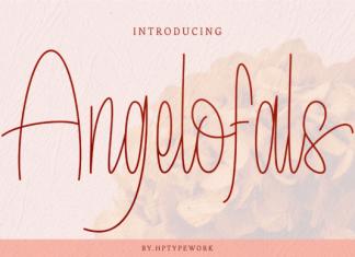 Angelofals Font