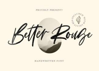 Better Rouge Font