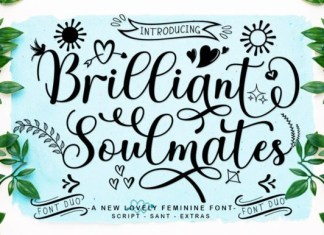 Brilliant Soulmates Font