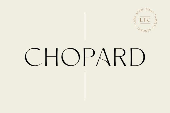 Chopard Font