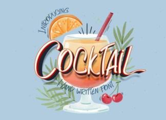 Cocktail Font