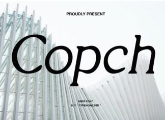 Copch Font
