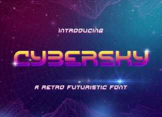 Cybersky Font