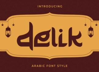 Delik Trial Font