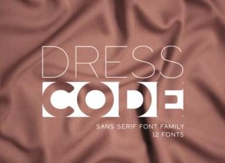 Dress Code Font