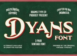 Dyans Font
