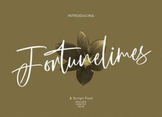Fortunelimes Font