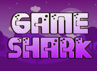 Game Shark Font